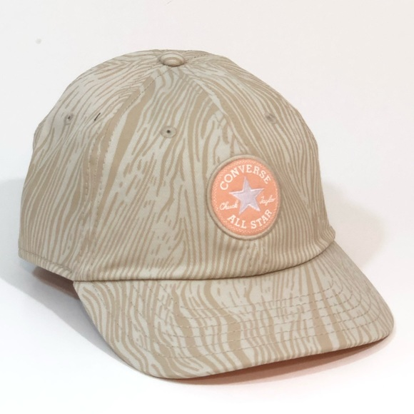 Converse All Star Baseball Hat Cap Pale Putty Wave